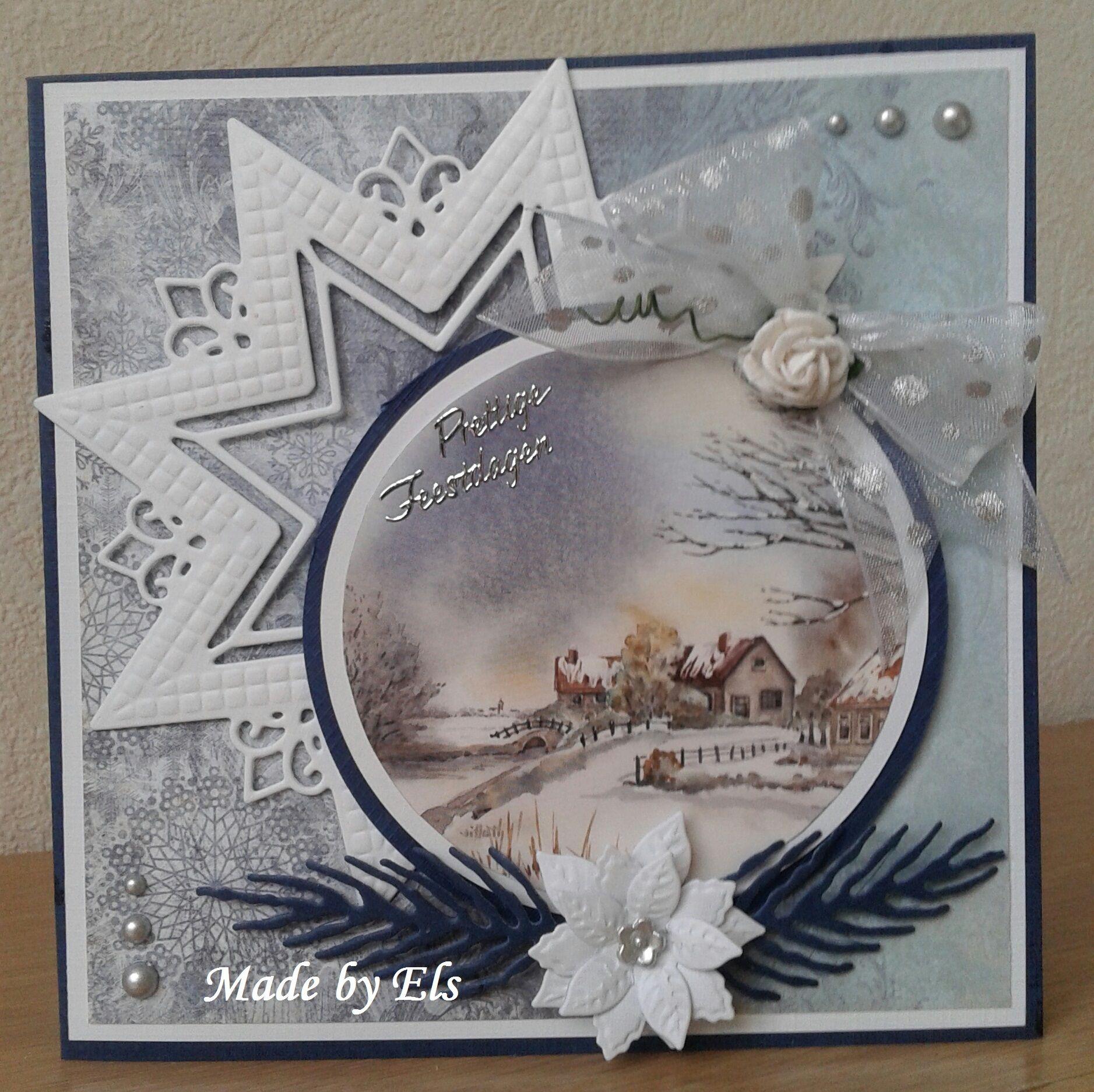 Fonkelnieuw Mooi Kerstkaartje (met afbeeldingen)   Kerst kaarten, Kaarten RG-56