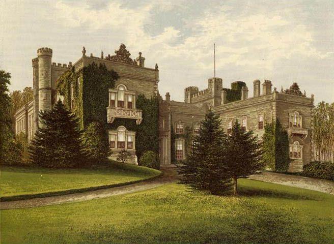 Aske Hall - home of the Dundas family Marquess's of Zetland.
