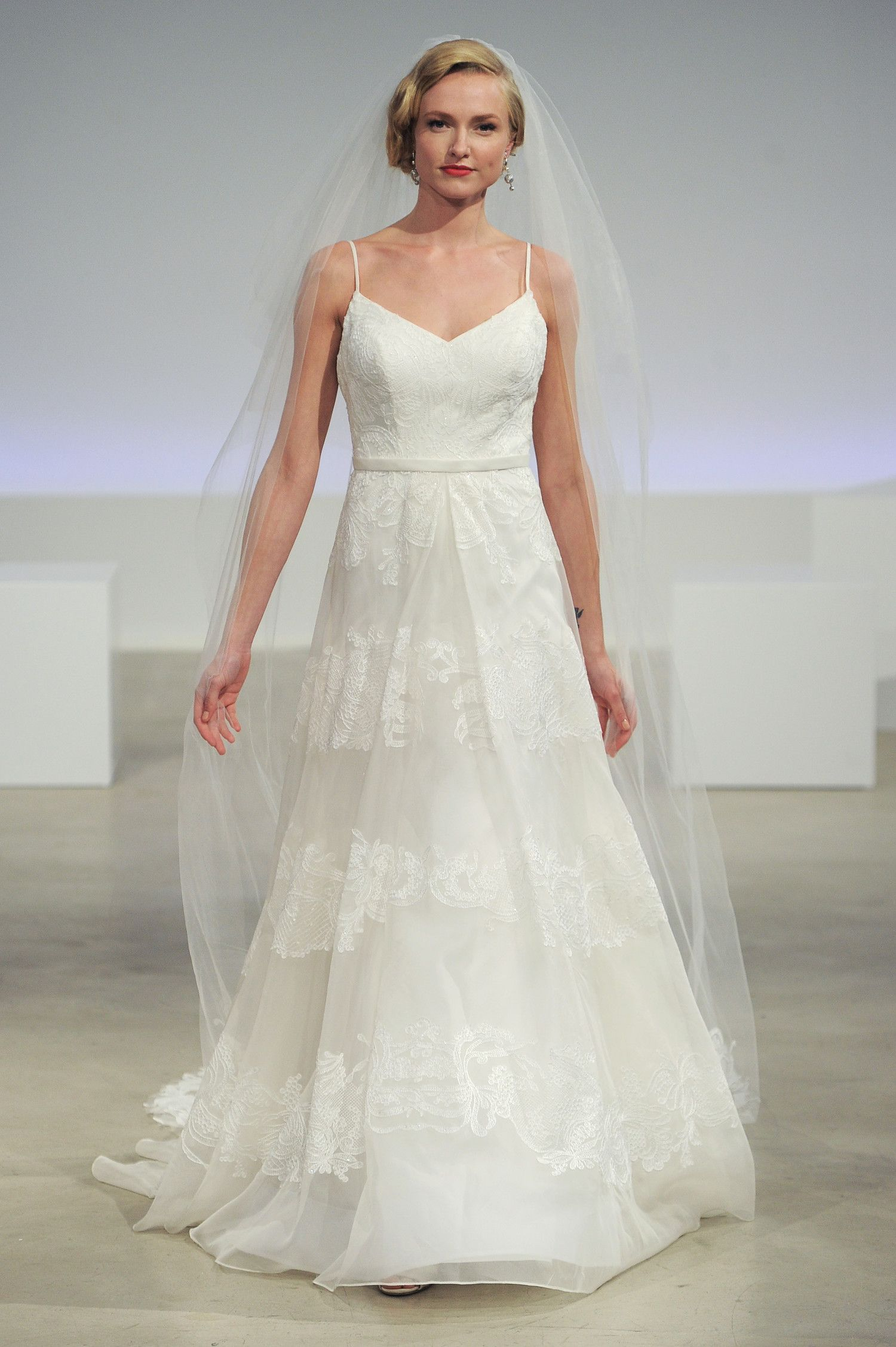 Simple Wedding Dresses That Are Just Plain Chic | Pinterest | Simple ...