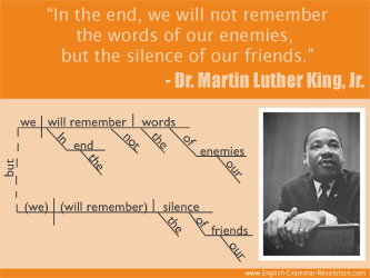 Mlk quote sentence diagram quotes sentence diagrams mlk quote sentence diagram ccuart Images