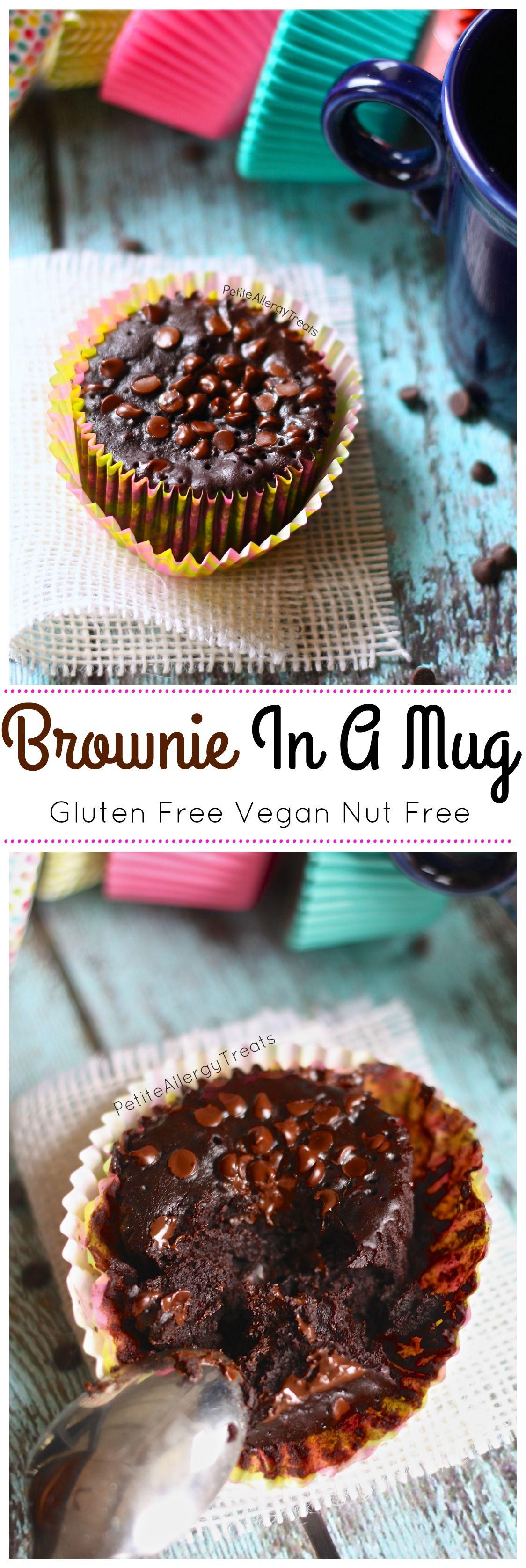 Brownie In A Mug Gluten Free And Vegan Recipe Gluten