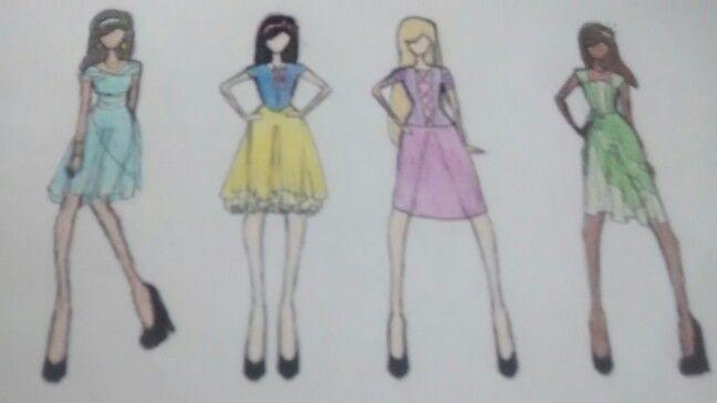 Princess dresses, modern