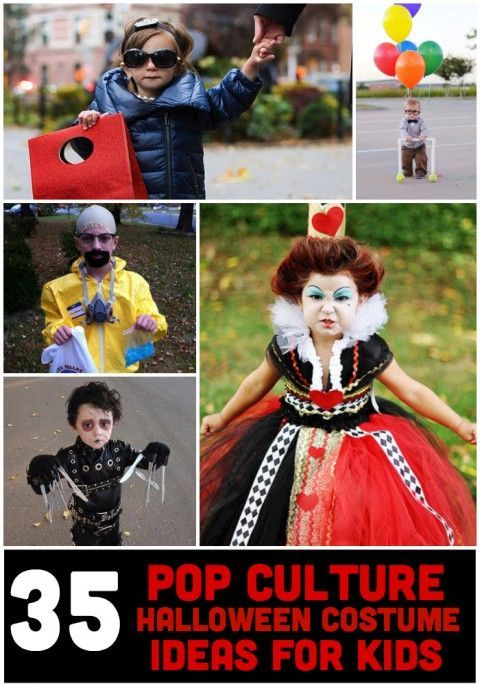 The Most Awesome Halloween Costumes For Kids Based on Movies and - pop culture halloween costume ideas