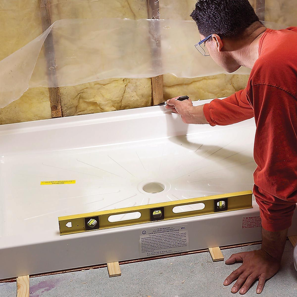 How To Fit A Shower Tray Ings Installation