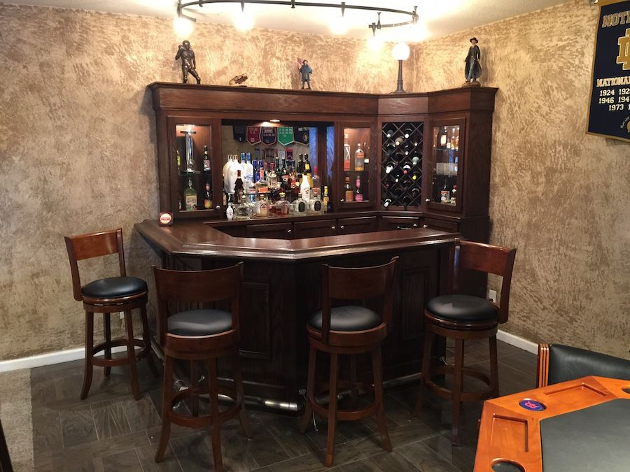 Man Cave Bar Photos : Reffitt's basement man cave bar primo craft blaine minnesota