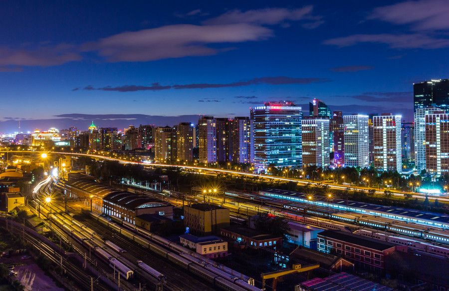 The city the night of the by Zeng qiang Lee on 500px