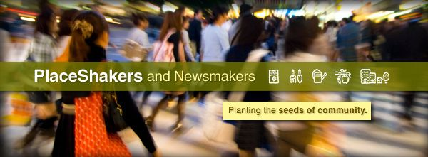 People, news and views shaping everyday community :: PlaceShakers December edition is out.