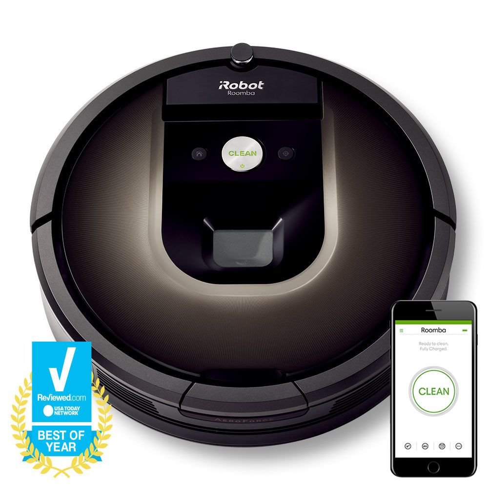 iRobot® Roomba® 980 Roomba vacuum, Cleaning robot