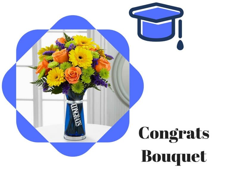 Online Graduation Flowers Delivery