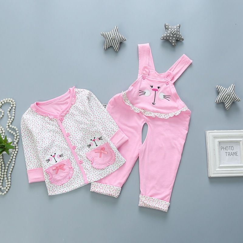 Click To Buy Baby Girl Boy Clothes Suit Autumn Winter Two Piece Of Cotton Coat Newborn Baby Clothe Baby Outfits Newborn Boy Outfits Baby Month By Month