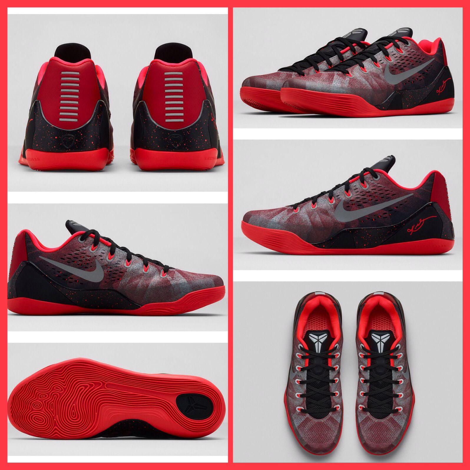 brand new e82a3 60d35 Kobe 9 Premium 652908-606 Gym Red Metallic Silver-Bright Crimson  170   Amazing  Nike  Kobe9  PremiumCollection