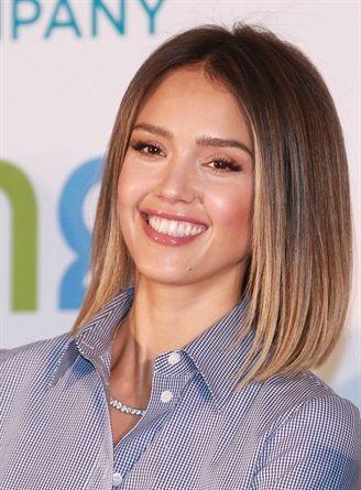 Jessica albas wavy bob is the ultimate relaxed style hair resultado de imagen de jessica alba bob haircut urmus Images
