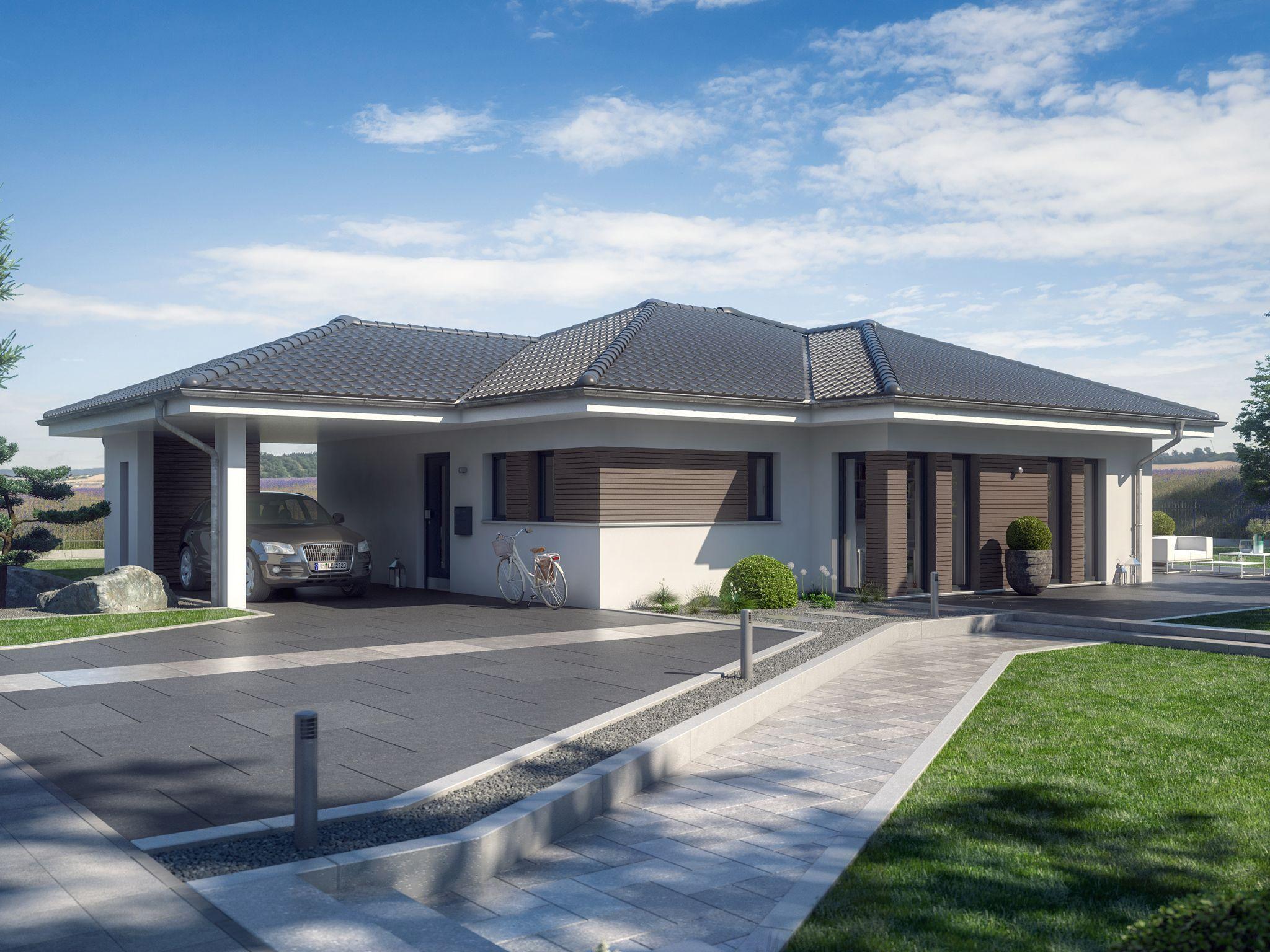 Pin Auf Bungalow Haus Design