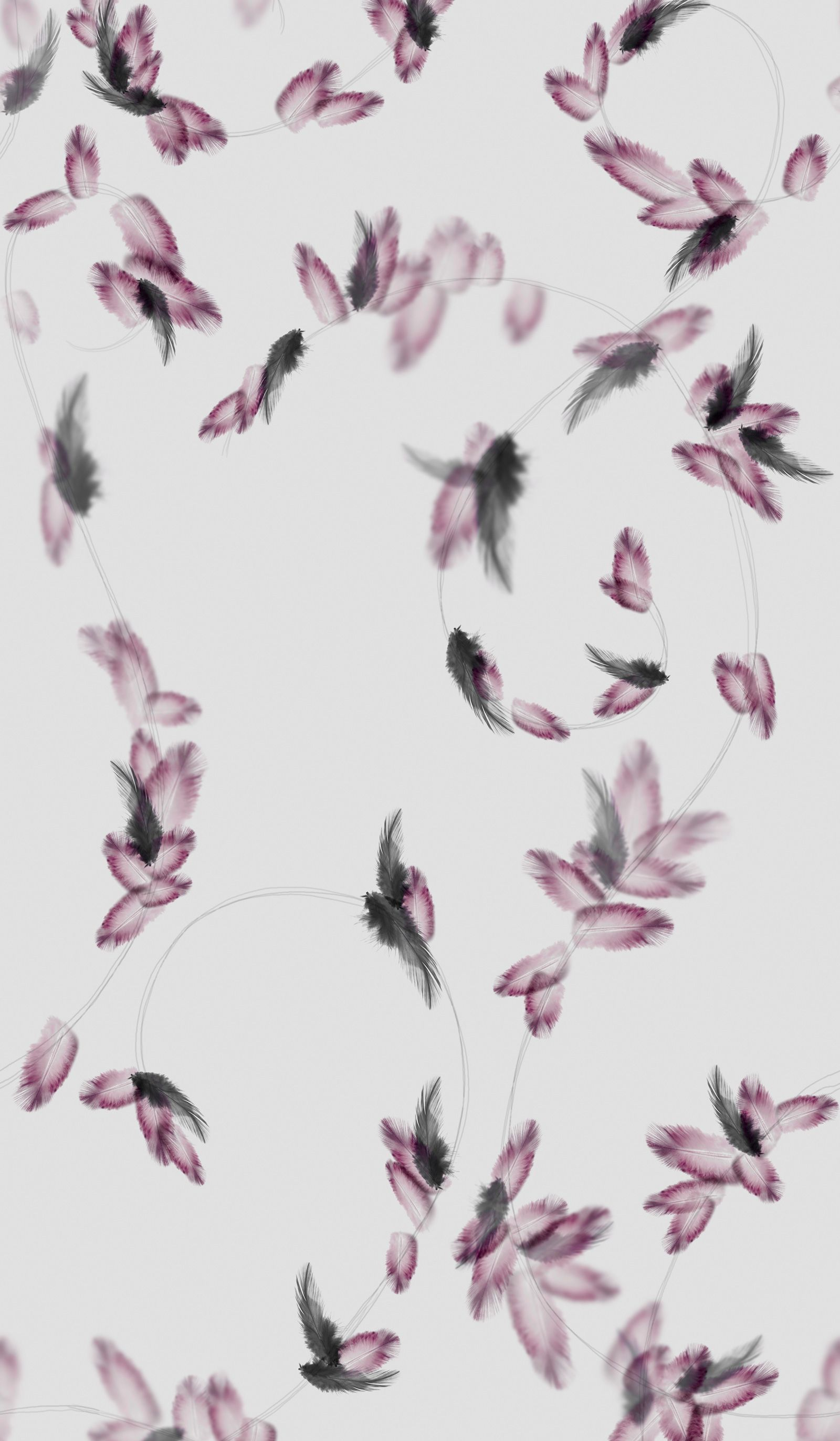 Pretty Little Liars Hannah S Room Feather Wallpaper Want For A