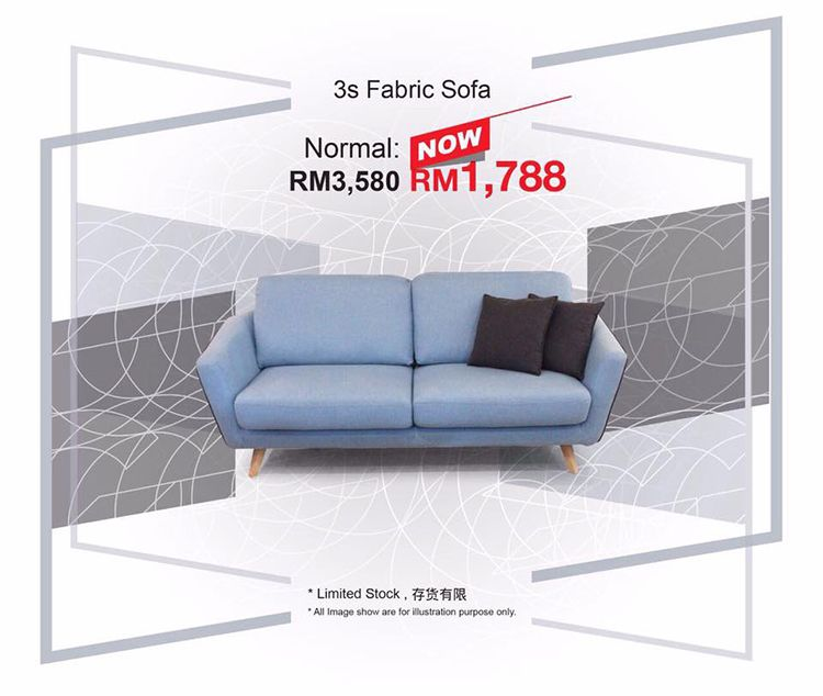 Score Up To 90 Discount At Gucca Italy Gudang Sale From 5 9 April 2017 Johor Now Johor Expensive Furniture Fabric Sofa
