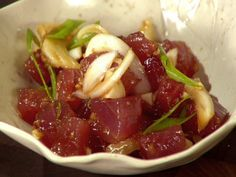 Ahi Poke Recipe : Food Network - FoodNetwork.com