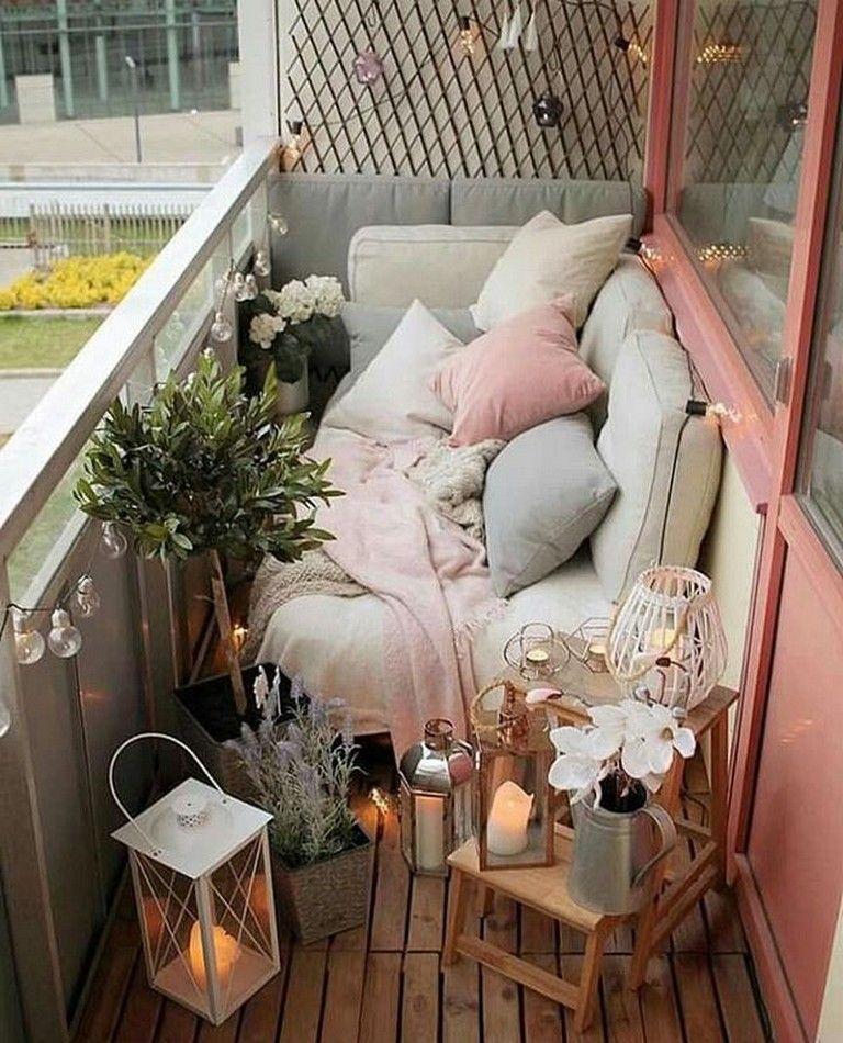 45 Cool And Clean Ideas To Make A Tiny Cozy Balcony Homedecor Homedesign Homedecoride Small Balcony Design Apartment Balcony Decorating Small Balcony Decor