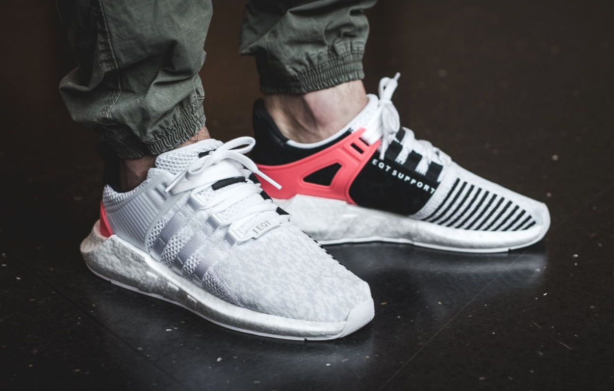 The adidas EQT Support 93 17 White Turbo Red Is Dropping Soon •  KicksOnFire.com 9b86616753