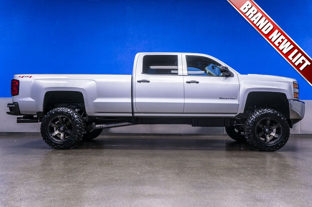 2015 chevrolet silverado 2500hd lt 4x4 duramax diesel truck for sale with brand new 6 fabtech. Black Bedroom Furniture Sets. Home Design Ideas