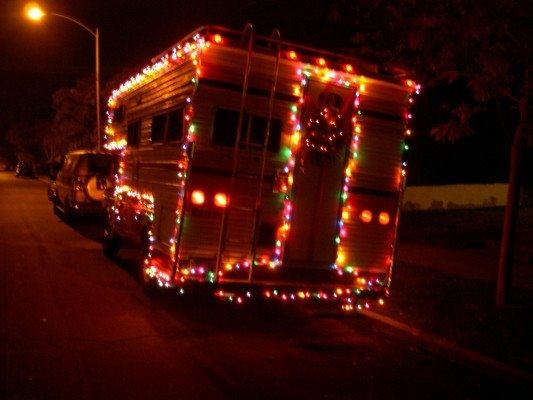 Christmas Truckin Lights