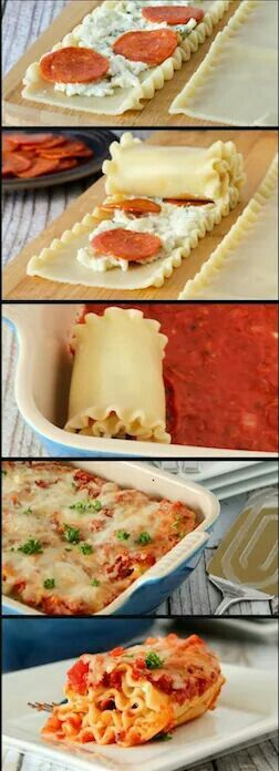To avoid the ingredients on the lasagna to fall apart, do the lasagna with this method.
