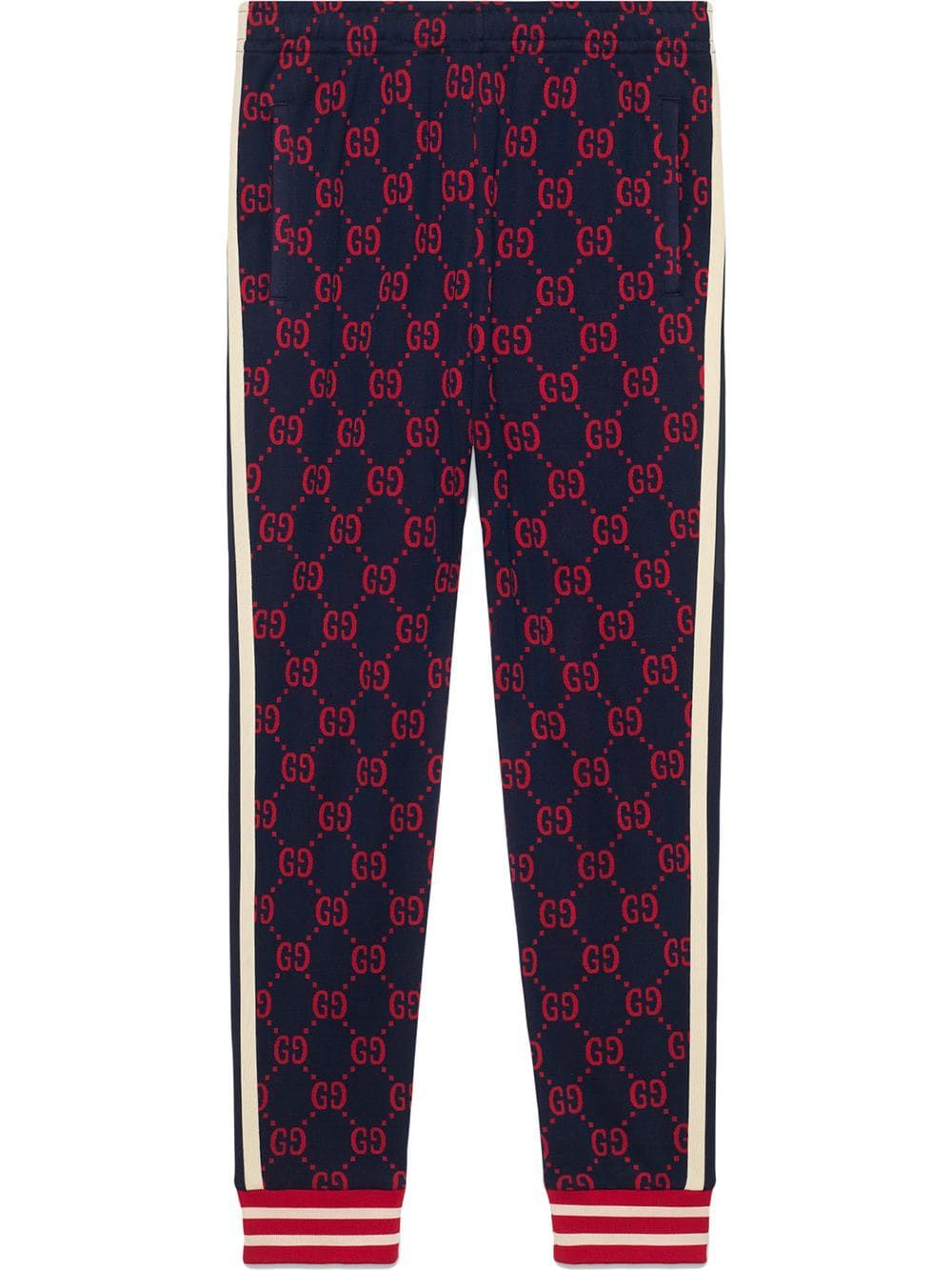 0ecec79d Gucci GG jacquard jogging pants - Blue in 2019 | Products | Gucci ...