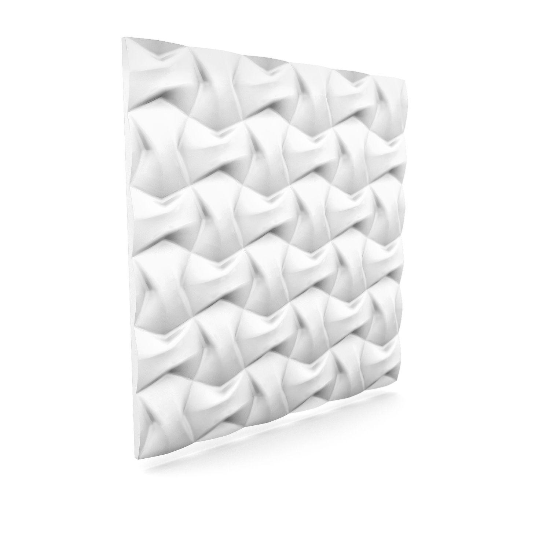 Lightweight 3d Wall Panel Bow 60cm X 60cm 3d Wall Panels Wall Paneling 3d Wall