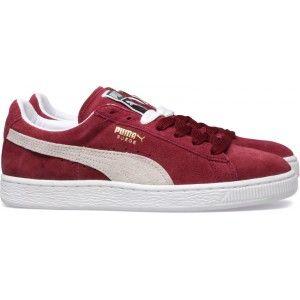 Suède Classique Avec Pumas Lo Chaussures Sneakers Bordeaux Bordeaux ZLM1l