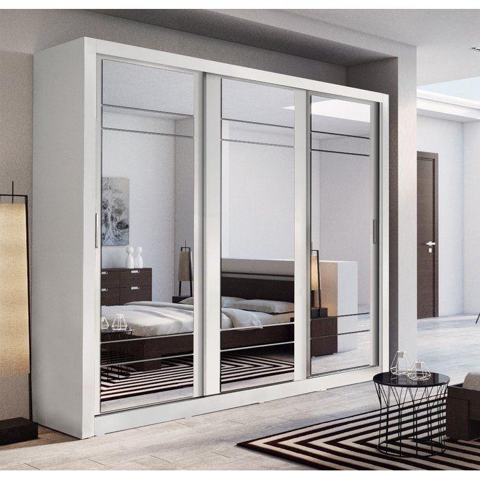 Cheap Bedroom Design Ideas Sliding Door Wardrobes: Toups 3 Door Sliding Wardrobe