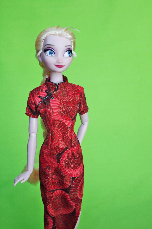 Easy QiPao Cheongsam Chinese Dress Clothes pattern von DGRequiem ...