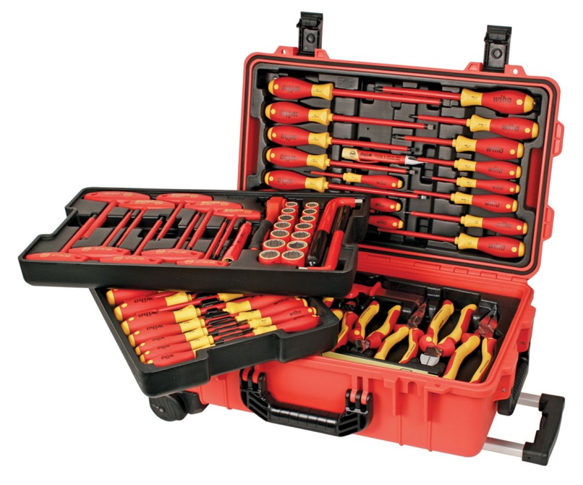 Insulated 80 Piece Set In Rolling Tool Case  sc 1 st  Pinterest & Insulated 80 Piece Set In Rolling Tool Case | Tool storage ...