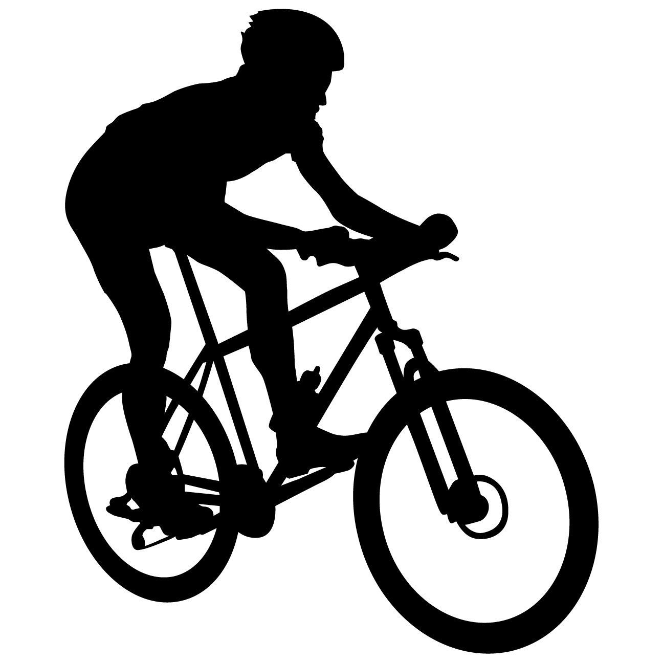 Bicycling Cycling Bicycle Wall Decal Sticker 11 | Products ...