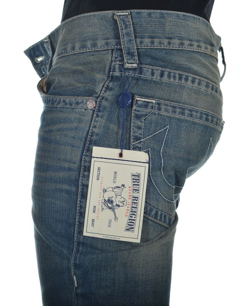 True Religion Mens Jeans Size 32 Slim in incandescnt NWT $273 #TrueReligion #SlimSkinny