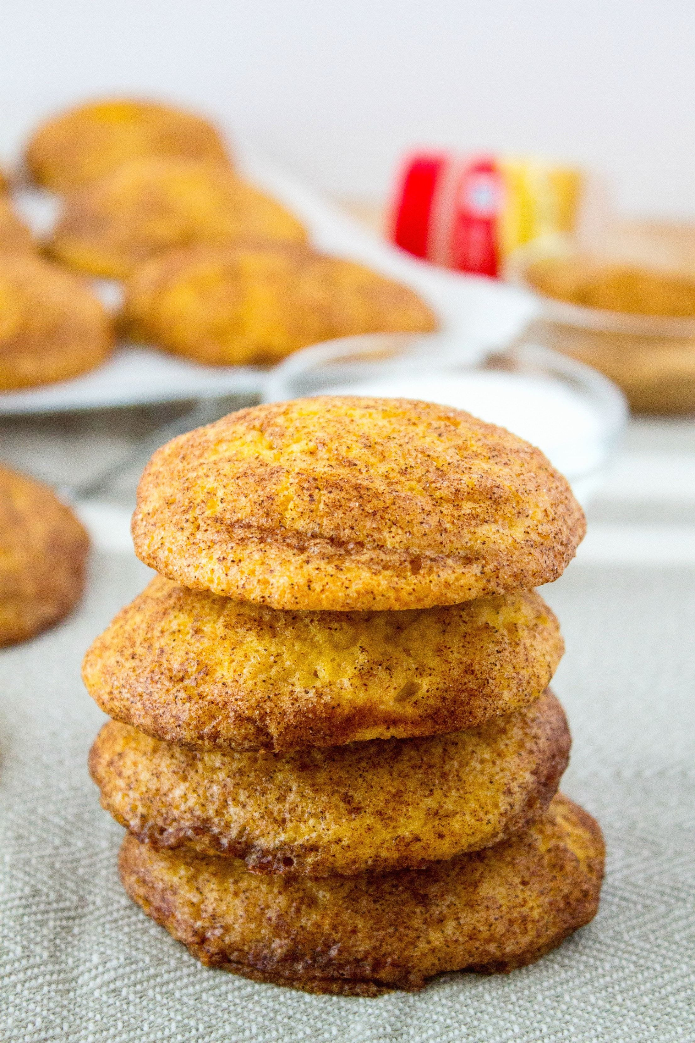 This Classic Cinnamon Sugar Cookie Is Given A Fall