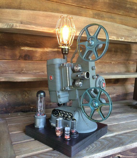 1940 S Era Dejur Movie Projector Steampunk Lamp Steampunk Lamp Led Projector Lights Movie Projector