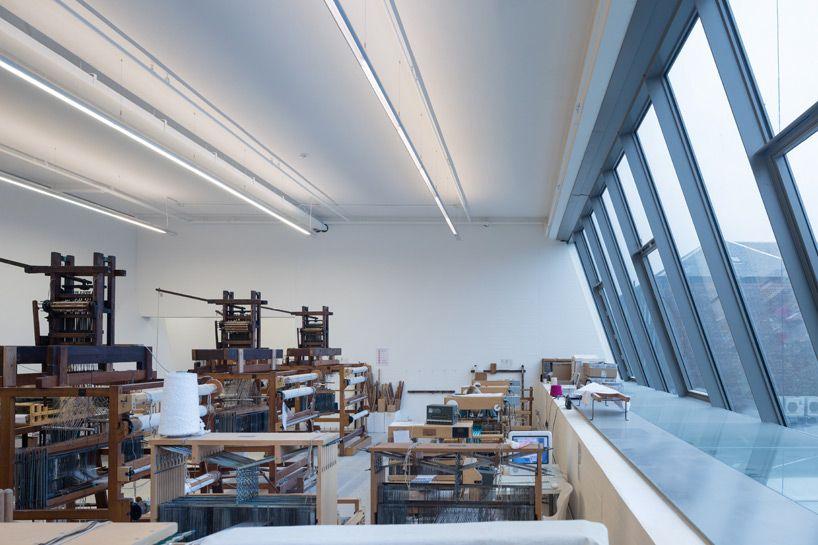 steven holl completes seona reid building at glasgow school of art
