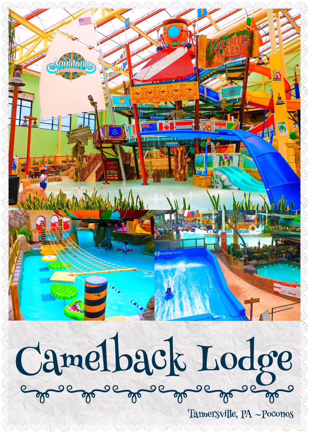 CAMELBACK LODGE  Aquatopia Indoor Water Park  The