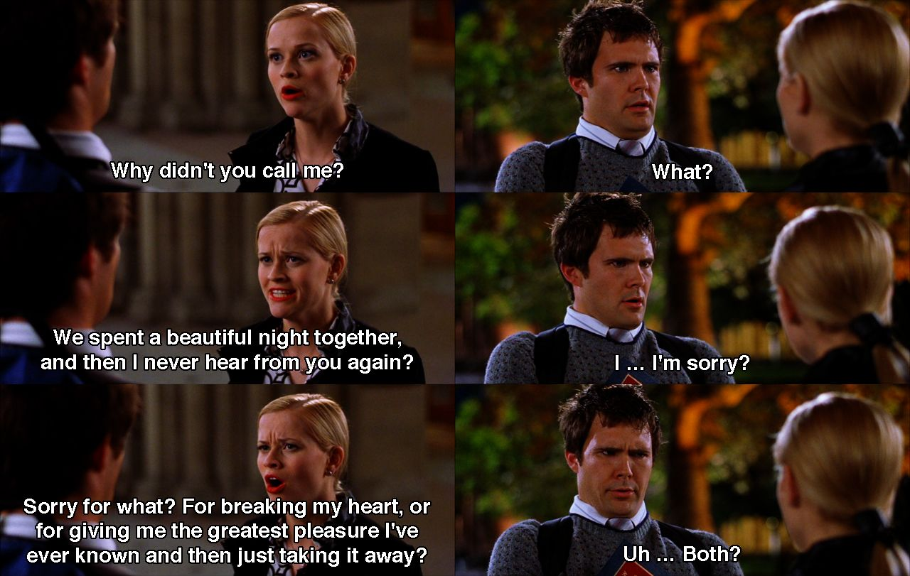 Pin By Claire On Book Quote Movie Scene Legally Blonde Quotes How To Cite A From Harvard Style