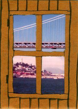 Framed: San Francisco & Bay Bridge by Lois Richter, via Flickr