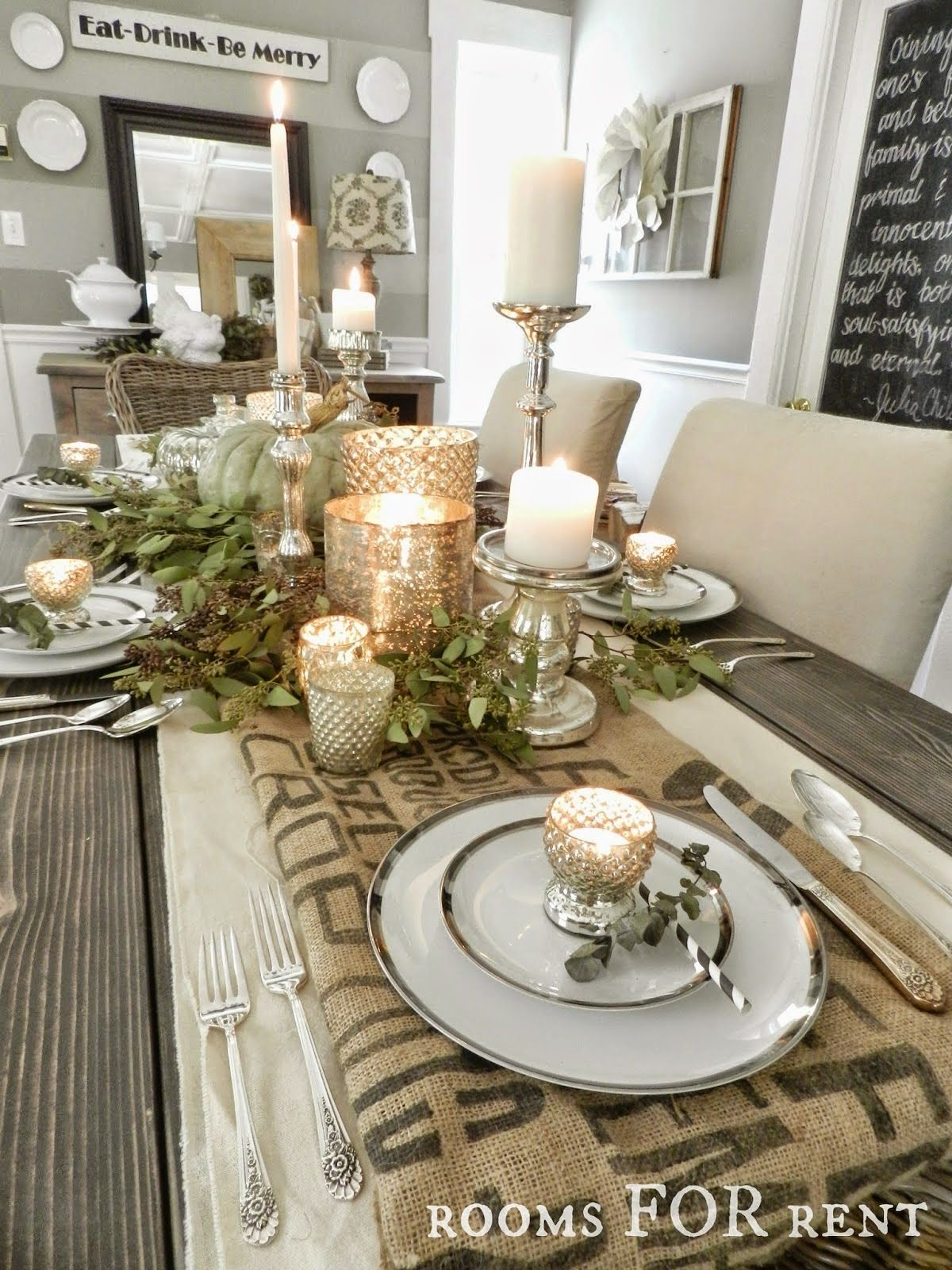 13 Thanksgiving Tablescapes Beneath My Heart Christmas Dining Table Decor Christmas Dining Table Thanksgiving Table Decorations