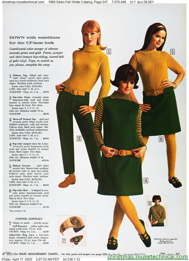 1966 Sears Fall Winter Catalog, Page 247 - Christm