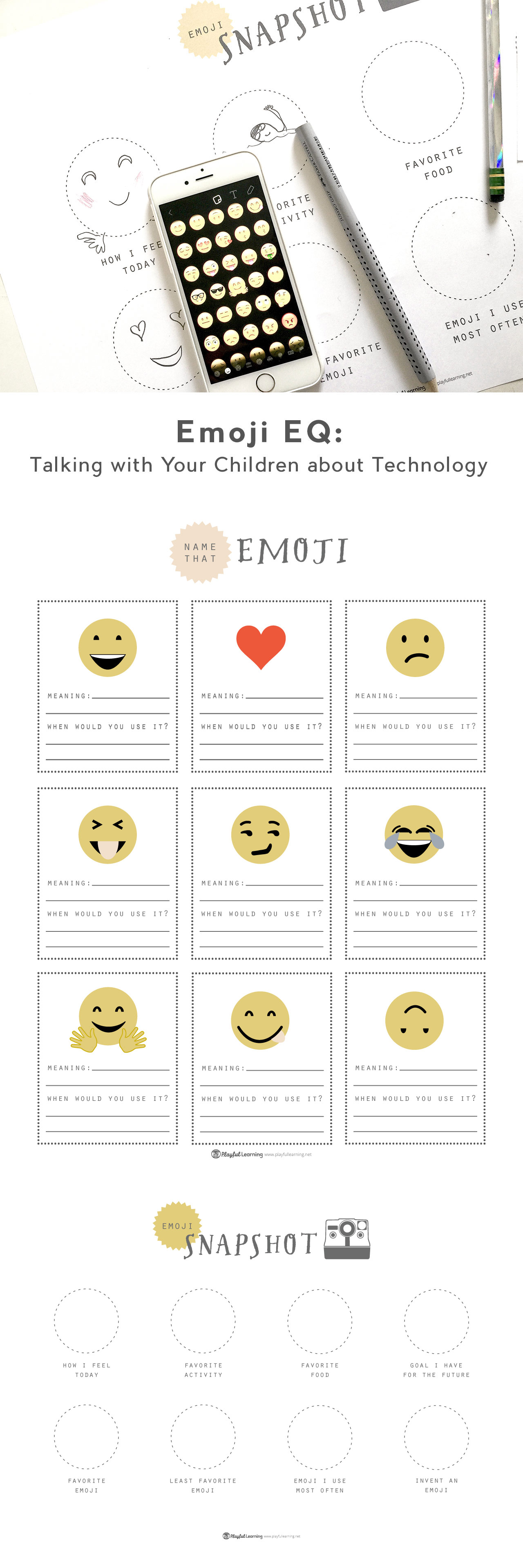 Emoji Eq A Great Way To Open Dialogue With Your Tweens And Teens About Technology