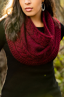 Photo of Indira Cowl pattern by Vanessa Smith