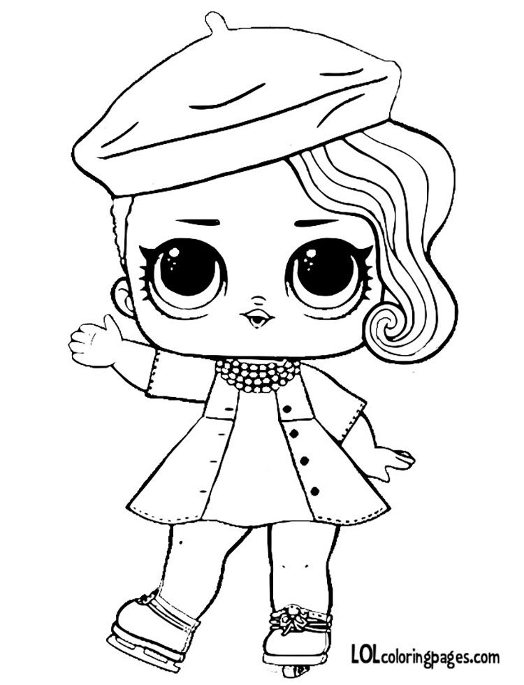 Posh Jpg 750 980 Pixeis Cool Coloring Pages Lol Dolls Doll Drawing