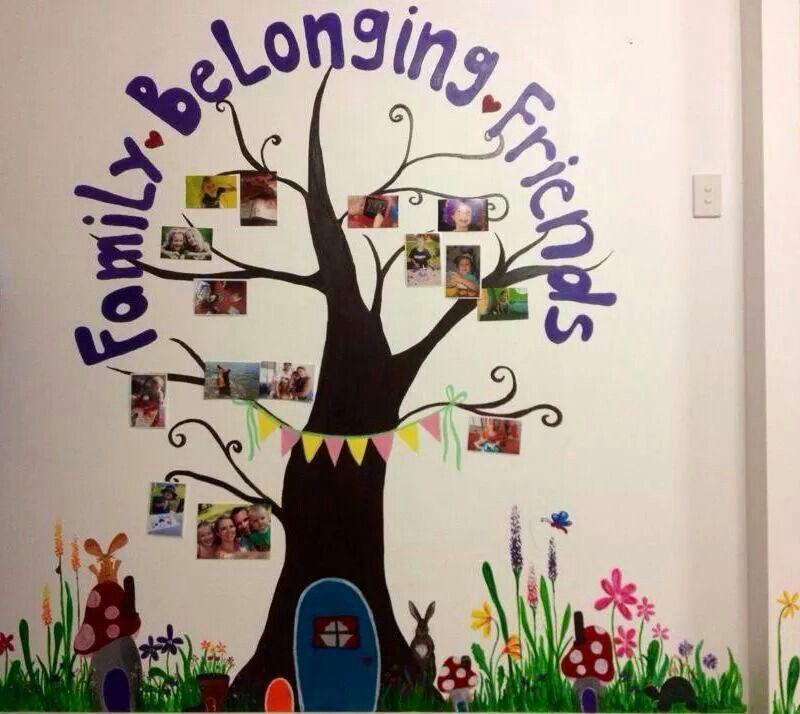 Belonging Family Tree Wall Family Tree Classroom Decorations