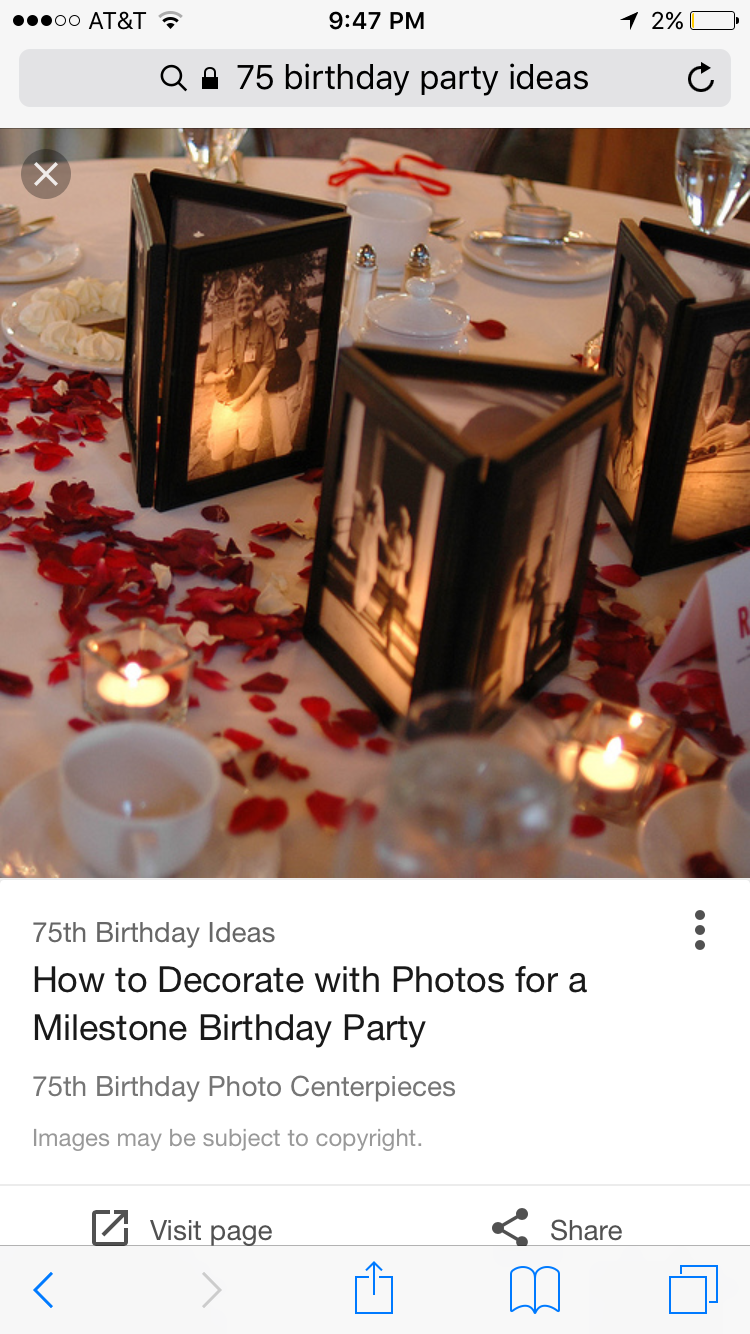 1 year wedding anniversary decorations  Pin by Diana Moscarda on th Birthday Party  Pinterest  th