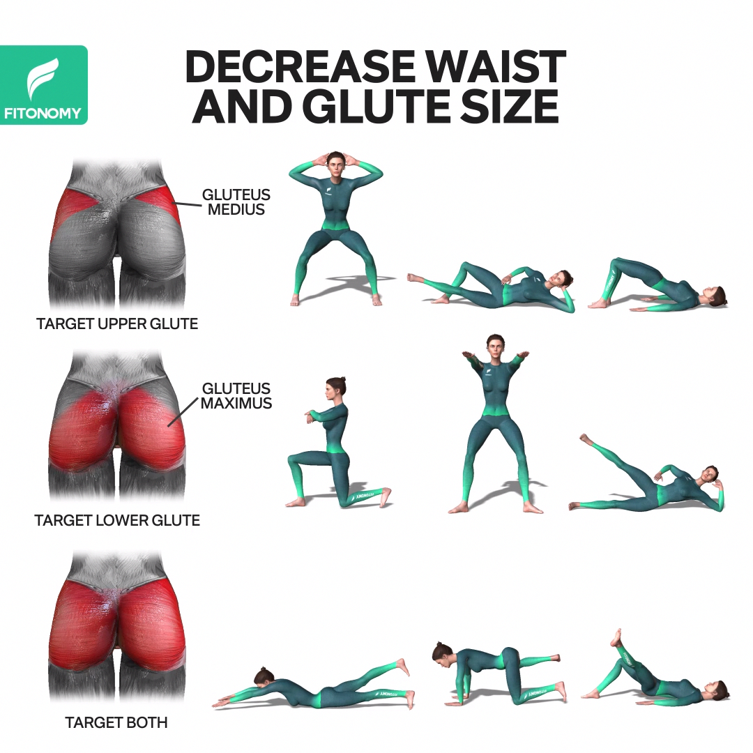 Fitness exercises butt shape exercises edition for android