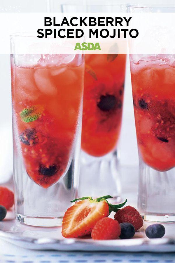 Berry mojito | Recipe | New years eve drinks, Mojito ...