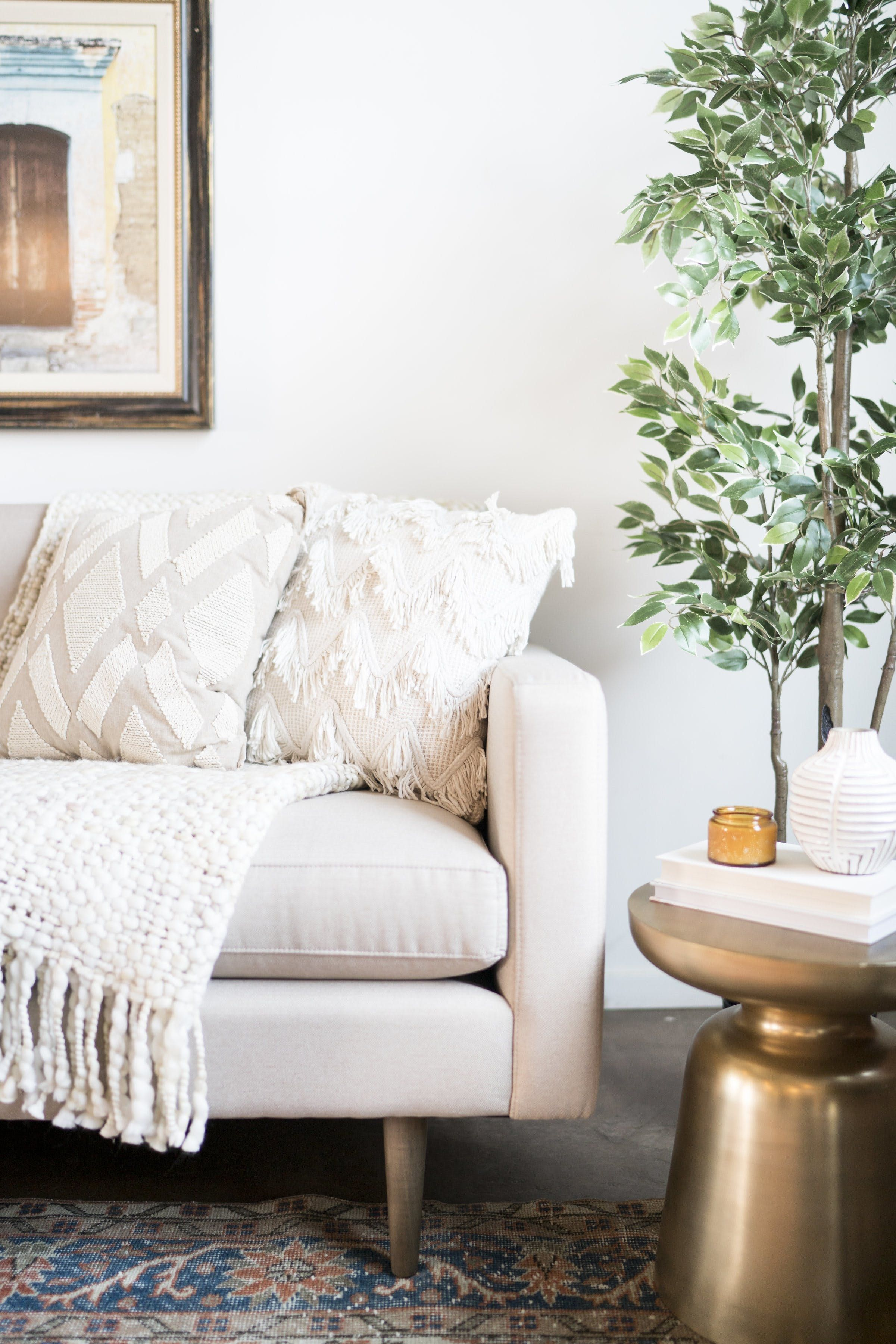 The Perfect Recipe for a Cozy Fall Home | Home living room ...