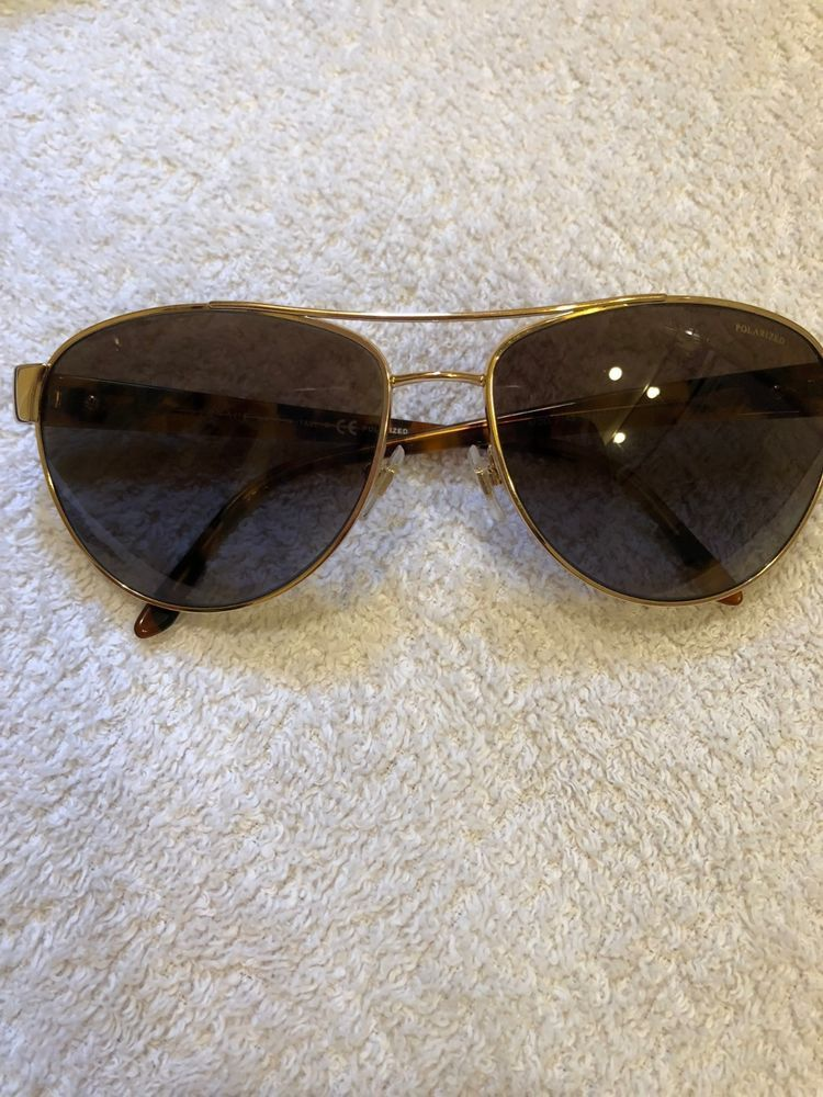 b1761f56b96 Womens Versace Aviator Sunglasses - Polarized - Brown Gold in Mint  Condition  fashion  clothing  shoes  accessories  womensaccessories ...